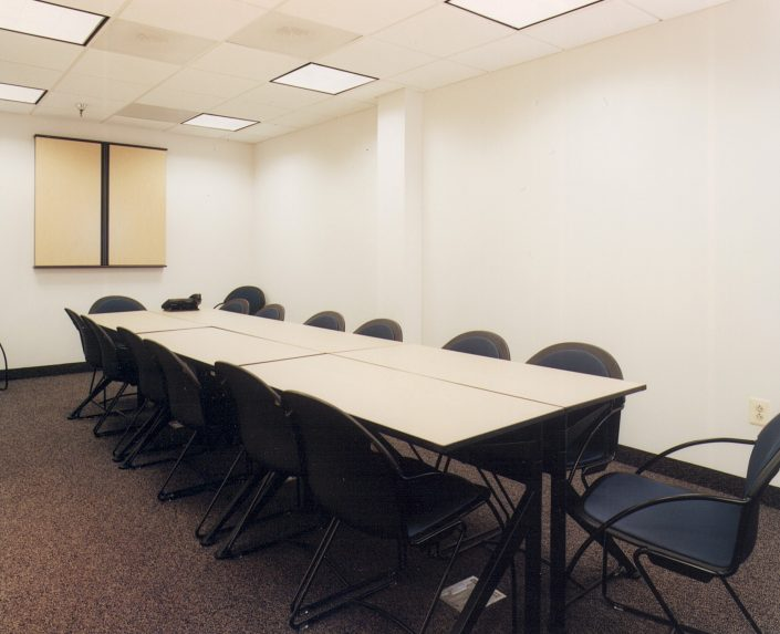 Healthcare Construction Contractor Meeting Room 1 S-Works Construction Corporation